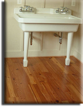 Country Farmhouse Heart Pine Flooring