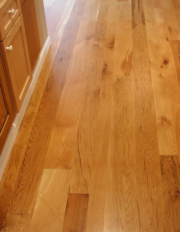 Appalachian woods rustic white oak flooring for Rustic red oak flooring